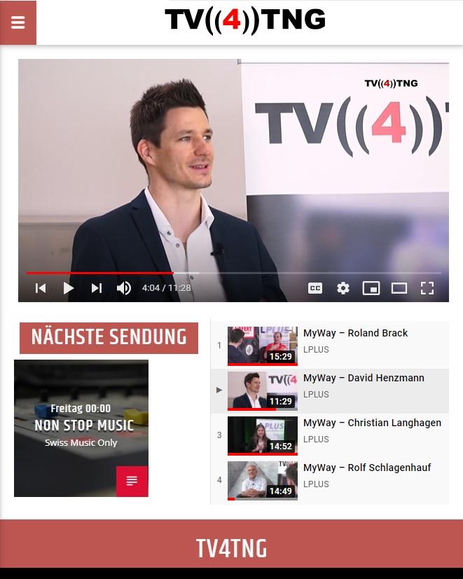 David Henzmann TV 4